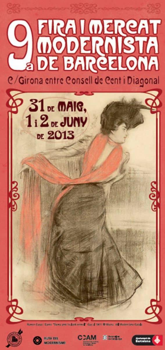 9ª Fira Modernista de Barcelona