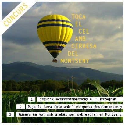 Concurs #EstiuMontseny Instagram Cervesa del Montseny